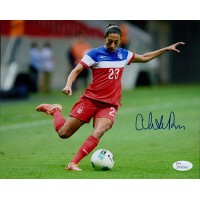Christen Press Signed Team USA 8x10 Matte Photo JSA Authenticated
