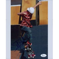 Ryan Sheckler Signed Skateboarding 8x10 Glossy Photo JSA Authenticated