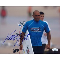 Kelly Slater Surfer Signed 8x10 Glossy Photo JSA Authenticated