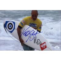 Kelly Slater Surfer Signed 8x12 Glossy Photo JSA Authenticated