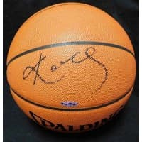 Kobe Bryant Signed Spalding Official Game Ball Upper Deck Authenticated