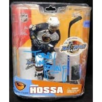 Todd McFarlane Signed NHL All-Star Exclusive LE 3,000 Marian Hossa Thrashers JSA Authenticated