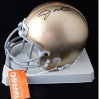 Joe Montana Notre Dame Fighting Irish Signed Mini Helmet Upper Deck UDA Auth.