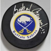 Gilbert Perreault Buffalo Sabres Signed Hockey Puck JSA Authenticated