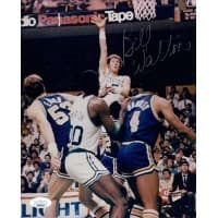 Bill Walton Boston Celtics Signed 8x10 Glossy Photo JSA Authenticated