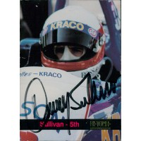 Danny Sullivan Indy Car Racer Signed 1993 Hi-Tech Card JSA Authenticated