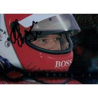 Al Unser Jr. Indy Car Racer Signed 1995 Classic Card JSA Authenticated