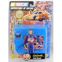 Dale Jarrett NASCAR Racing Signed Superstars of Racing Figure JSA Authenticated