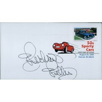 Richard Petty NASCAR Driver Signed First Day Issue Cover FDC JSA Authenticated