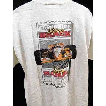 Bobby Rahal Indy Car Racing Signed Shell T-Shirt JSA Authenticated