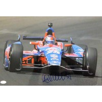 Marco Andretti Indy Car Racer Signed 12x18 Glossy Photo JSA Authenticated