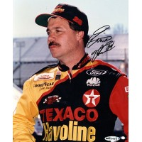 Ernie Irvan Signed 8x10 NASCAR Racing Photo Upper Deck Authenticated