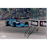 Greg Moore IndyCar Driver Signed 8x12 Matte Photo JSA Authenticated