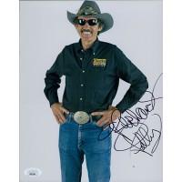 Richard Petty NASCAR Racing Signed 8x10 Glossy Photo JSA Authenticated
