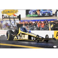 Tony Schumacher Top Fuel dragster Signed 12x18 Glossy Photo JSA Authenticated