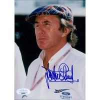 Jackie Stewart Formula One Driver Signed 5x7 Glossy Photo JSA Authenticated