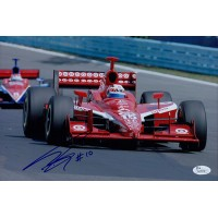 Dan Wheldon British IndyCar Driver Signed 8x12 Glossy Photo JSA Authenticated