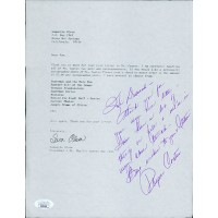 Phyllis Coates Actress Signed Request Letter JSA Authenticated