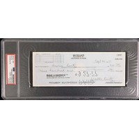 Walter Gracie Lantz Cartoonist Signed Cancelled Check PSA Authenticated Slabbed