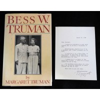 Margaret Truman Signed Typed Letter with Book JSA Authenticated