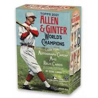 2021 MLB Topps Allen & Ginter World's Champions Baseball Trading Card Blaster Box