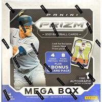 2021 MLB Prizm Baseball Trading Card Mega Box 9 Packs