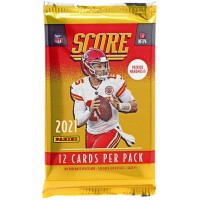2021 Score Football Trading Card Retail Pack