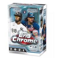 2021 Topps MLB Chrome Baseball Trading Card Blaster Box