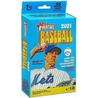 2021 Topps MLB Heritage Baseball Trading Card Hanger Box
