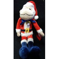 "Los Angeles Angels MLB SGA Christmas Santa Rally Monkey 2017 Sealed 10"""