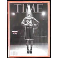 Kobe Bryant Time Magazine February 1/10/2020 Tribute No Label