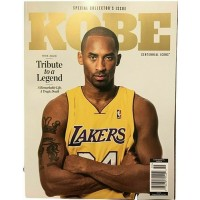 Kobe Bryant Centennial Icons Magazine Commemorative Edition Tribute No Label