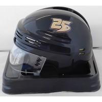 Anaheim Ducks 25th Anniversary Black NHL Hockey Replica Mini Helmet