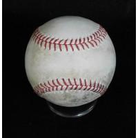 CJ Wilson Angels Wilin Rosario Rockies Game Used Baseball MLB Authenticated