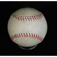 CJ Wilson Angels Willie Bloomquist Mariners Game Used Baseball MLB Authenticated