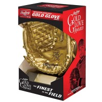 Miniature Rawlings Gold Glove Award
