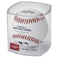 Official MLB Baseball and Display Cube