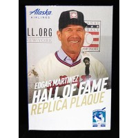Edgar Martinez Seattle Mariners SGA Hall of Fame Replica Plaque 8/10/19