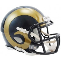 Los Angeles Rams 2000-2016 Riddell Mini Helmet