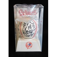 New York Yankees 2010 Souvenir Autoball Stamped Autograph Baseball Team