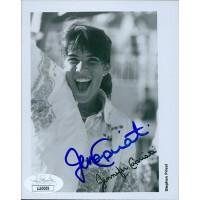 Jennifer Capriati Tennis Star Signed 4x5 Glossy Photo JSA Authenticated