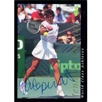Jennifer Capriati Tennis Star 1992 Classic Autographed Card