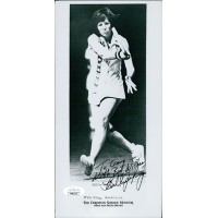 Billie Jean King Tennis Star Signed 5x10 Glossy Photo JSA Authenticated