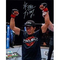 Takeya Mizugaki UFC MMA Signed 8x10 Matte Photo Fanatics Authenticated