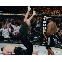 Kimbo Slice UFC MMA Signed 8x10 Matte Photo JSA Authenticated