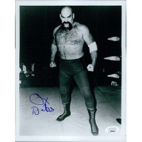 Ox Baker WWF WWE Wrestler 8x10 Glossy Photo JSA Authenticated