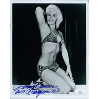 Penny Banner AWA NWA Wrestler 8x10 Glossy Photo JSA Authenticated