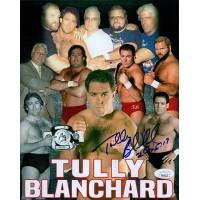 Tully Blanchard WWE WWF Wrestler 8x10 Glossy Photo JSA Authenticated