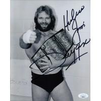 Hacksaw Jim Duggan WWE WCW Wrestler 8x10 Glossy Photo JSA Authenticated