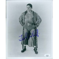 Leo Garibaldi Wrestler 8x10 Glossy Photo JSA Authenticated